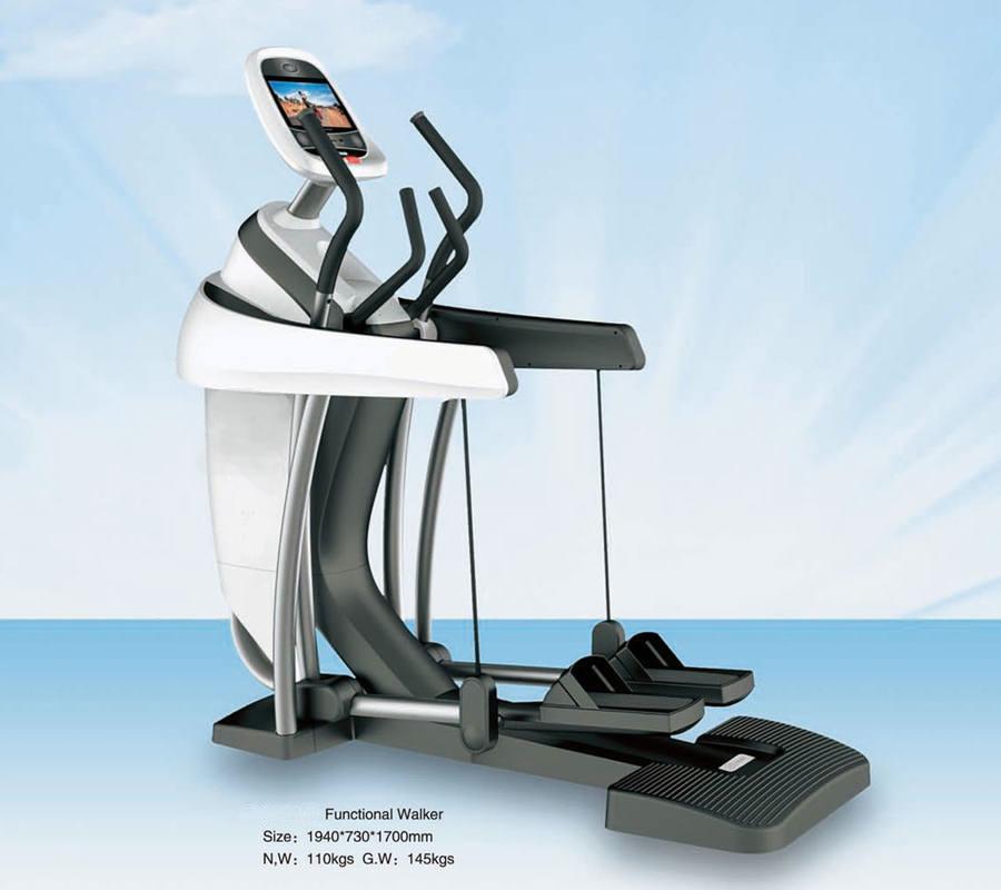 Exercise Stepper Elliptical Walker Combo Machine